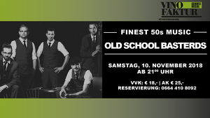"Live in Concert ""OLD SCHOOL BASTERDS"""