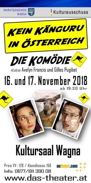 """Komödie: """"Kein Känguru in Österreich"""""""