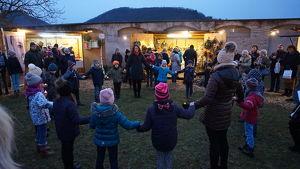 Advent im Hellerhof im Kulturgarten