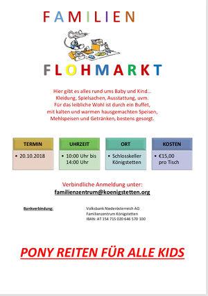 Familienflohmarkt Familienzentrum