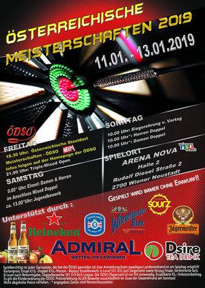 Österreichische Dart Meisterschaft 2019