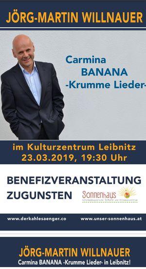 JÖRG MARTIN WILLNAUER- Carmina BANANA - Krumme Lieder-