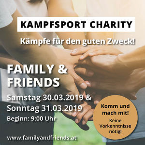 Kampfsport Charity Family & Friends