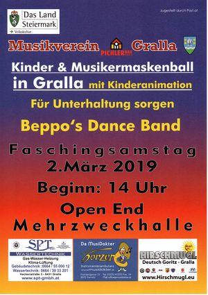 Kinder- und Musikermaskenball