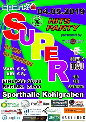spark7     SUPER HITS PARTY Vol2    presented by SchwarzBräu