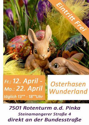 Osterhasen Wunderland 2019