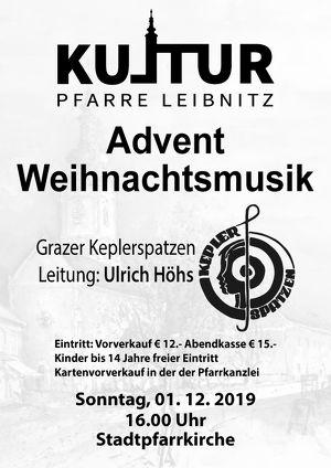 Kultur Pfarre Leibnitz - Advent-Chorkonzert