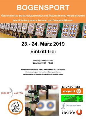 Österreichische Staatsmeisterschaften und Österreichische Meisterschaften World Archery Indoor Recurve- und Compoundklassen