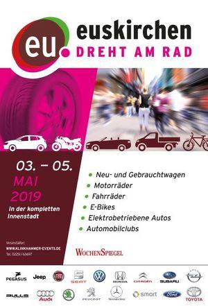 """Autoschau in Euskirchen """" Euskirchen dreht am Rad"""""""