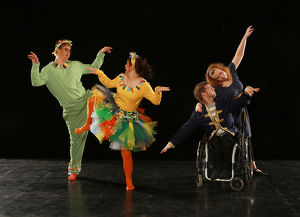 """Tanztheaterproduktion ,,Flötenzauber"""" des ,,Ich bin O.K."""" – Tanzvereins"""