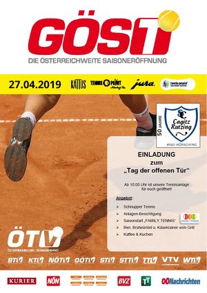 """Tag der offenen Tür - """"Ganz Österreich spielt Tennis"""" (GÖST)"""