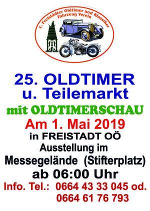 25. Oldtimer und Teilemarkt mit Oldtimerschau