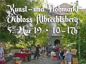 Kunst- und Privat-Flohmarkt auf Schloss Albrechtsberg