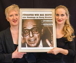 """""""Fürchten wir das Beste!"""" -eine Hommage an Georg Kreisler, Musikkabarett"""