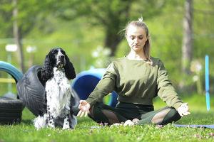 ommm, Dog-Yoga by beerenstark!3er Block/ Muskelkater & Fun inklusive