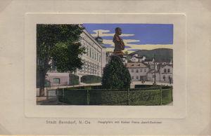Tag des Denkmals – Berndorf – Hallenschule