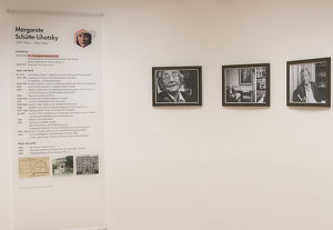Tag des Denkmals – Margarete Schütte-Lihotzky Raum