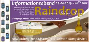 LichtSpiegel.Kreativ präsentiert: Die Raindrop-Technik – Infoabend mit Practitioner Sabina Anna