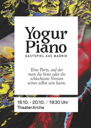Yogur Piano. Teatro Español en Viena