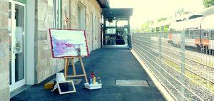 Ein Jahr Kunstbahnhof Wörthersee