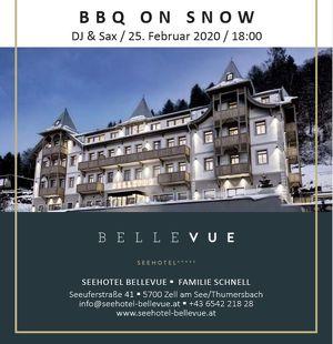 BBQ on Snow Event im Seehotel Bellevue