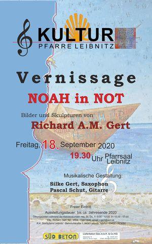 Kultur Pfarre Leibnitz - Vernissage Noah in Not