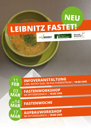 LEIBNITZ FASTET! - Infoveranstaltung
