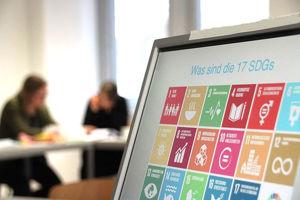 Nur 5 Schritte zu deinen betrieblichen SDGs (Sustainable Development Goals) Reporting about SDG