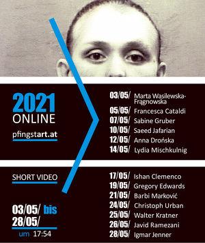 pfingstART 2021_ONLINE_13 KünstlerInnen / 13 Kurze Videos_Sabine Gruber_Lydia Mischkulnig u.v.a.