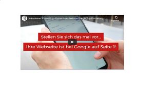 Kostenloses Online-Webinar: Google Top Platzierung