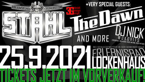 25 Jahre STAHL & Very Special Guests