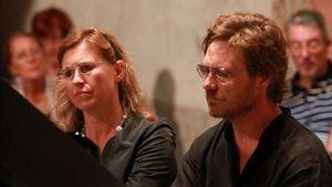 Sommerkonzert im Gemeindesaal Alpen Classica Festival QUADRI - vierhändig am Flügel