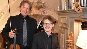 David Arroyabe und Michael Schöch: Violine & Klavier
