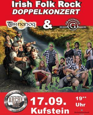 "Irish Rock Folk - Doppelkonzert mit ""Tir Nan Og"" und ""Gracenotes"""