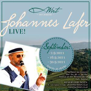 Johannes Lafer LIVE!