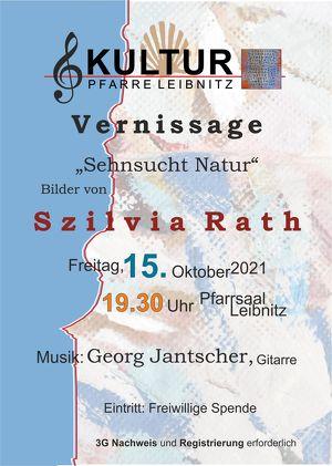 Kultur Pfarre Leibnitz - Vernissage Szilvia Rath